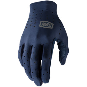 100% Sling Guantes, navy